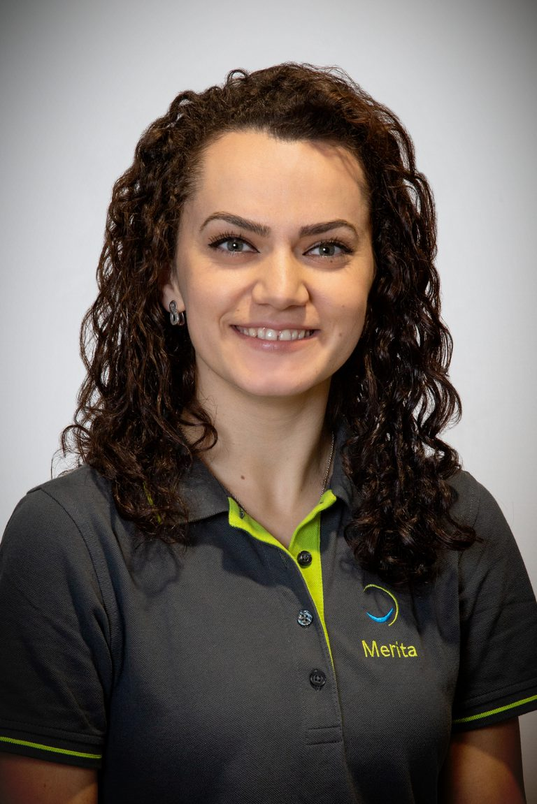Merita Thaqi,Auszubildende seit 2019
