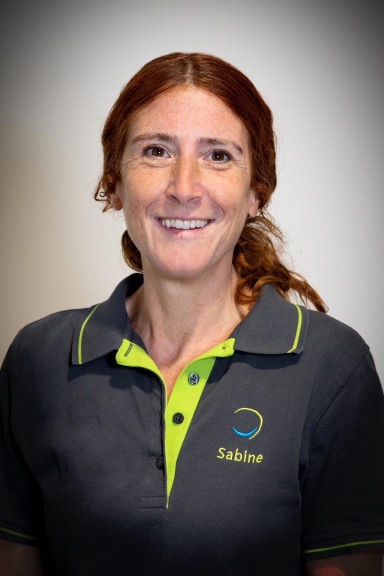 Sabine Lehmann, ZMF; im Team seit 1993